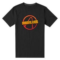 Мужская стрейчевая футболка Borderlands logotype