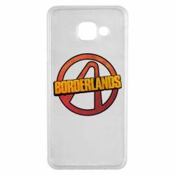 Чехол для Samsung A3 2016 Borderlands logotype