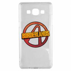 Чехол для Samsung A5 2015 Borderlands logotype