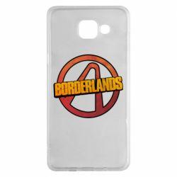 Чехол для Samsung A5 2016 Borderlands logotype