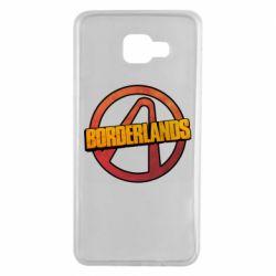 Чехол для Samsung A7 2016 Borderlands logotype