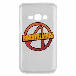 Чехол для Samsung J1 2016 Borderlands logotype