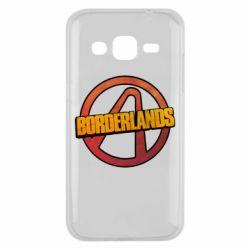 Чехол для Samsung J2 2015 Borderlands logotype