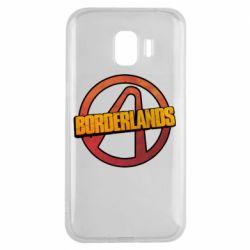 Чехол для Samsung J2 2018 Borderlands logotype