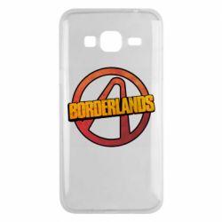 Чехол для Samsung J3 2016 Borderlands logotype