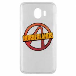 Чехол для Samsung J4 Borderlands logotype