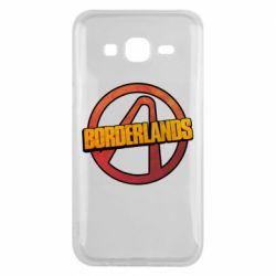 Чехол для Samsung J5 2015 Borderlands logotype