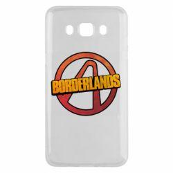 Чехол для Samsung J5 2016 Borderlands logotype