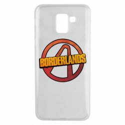 Чехол для Samsung J6 Borderlands logotype