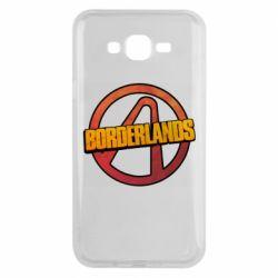 Чехол для Samsung J7 2015 Borderlands logotype