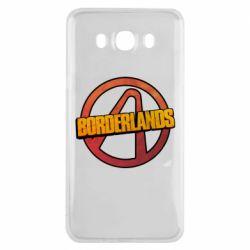 Чехол для Samsung J7 2016 Borderlands logotype