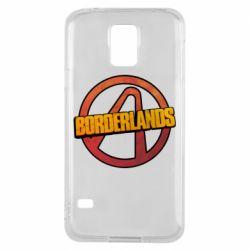 Чехол для Samsung S5 Borderlands logotype