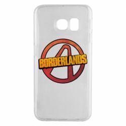 Чехол для Samsung S6 EDGE Borderlands logotype