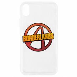 Чехол для iPhone XR Borderlands logotype