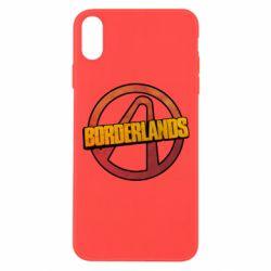 Чехол для iPhone Xs Max Borderlands logotype