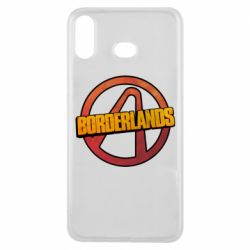 Чехол для Samsung A6s Borderlands logotype