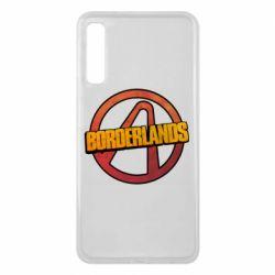 Чехол для Samsung A7 2018 Borderlands logotype