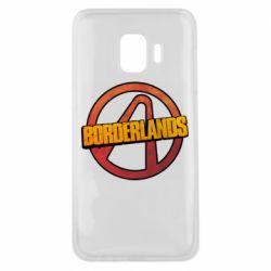 Чехол для Samsung J2 Core Borderlands logotype
