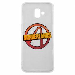 Чехол для Samsung J6 Plus 2018 Borderlands logotype