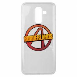 Чехол для Samsung J8 2018 Borderlands logotype