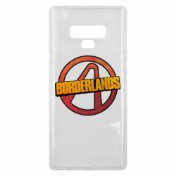 Чехол для Samsung Note 9 Borderlands logotype