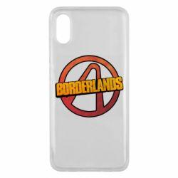 Чехол для Xiaomi Mi8 Pro Borderlands logotype