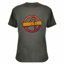 Камуфляжная футболка Borderlands logotype