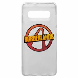 Чехол для Samsung S10+ Borderlands logotype