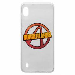 Чехол для Samsung A10 Borderlands logotype
