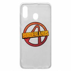 Чехол для Samsung A20 Borderlands logotype