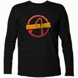 Футболка с длинным рукавом Borderlands logotype