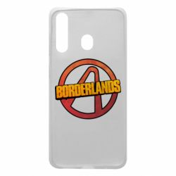 Чехол для Samsung A60 Borderlands logotype