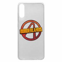 Чехол для Samsung A70 Borderlands logotype
