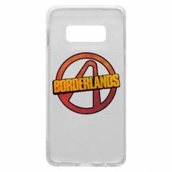 Чехол для Samsung S10e Borderlands logotype