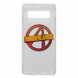 Чехол для Samsung S10 Borderlands logotype