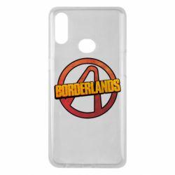 Чехол для Samsung A10s Borderlands logotype