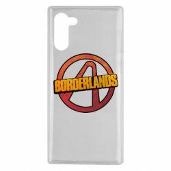 Чехол для Samsung Note 10 Borderlands logotype