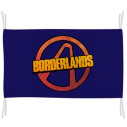 Флаг Borderlands logotype