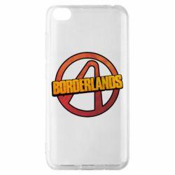 Чехол для Xiaomi Redmi Go Borderlands logotype