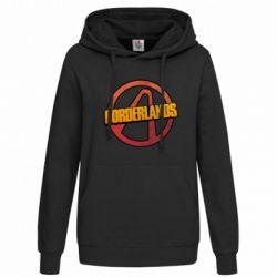 Женская толстовка Borderlands logotype