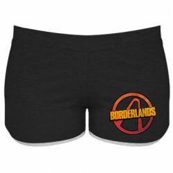 Женские шорты Borderlands logotype