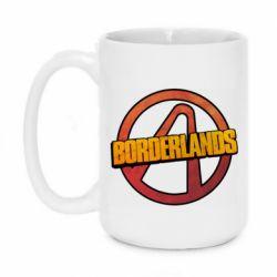 Кружка 420ml Borderlands logotype