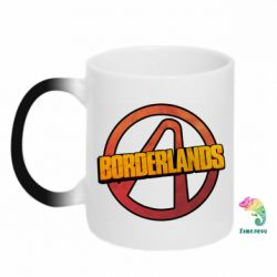 Кружка-хамелеон Borderlands logotype
