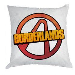 Подушка Borderlands logotype