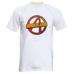 Мужская спортивная футболка Borderlands logotype