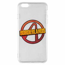 Чехол для iPhone 6 Plus/6S Plus Borderlands logotype