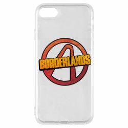 Чехол для iPhone 7 Borderlands logotype