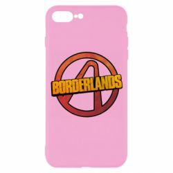 Чехол для iPhone 7 Plus Borderlands logotype