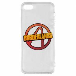 Чехол для iPhone5/5S/SE Borderlands logotype