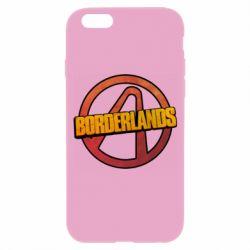 Чехол для iPhone 6/6S Borderlands logotype